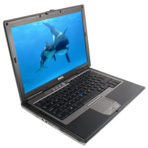 Laptop Sh DELL LATITUDE D820 Core2Duo T7200 2.00 GHZ 4GB RAM 120GB HDD 15.4""