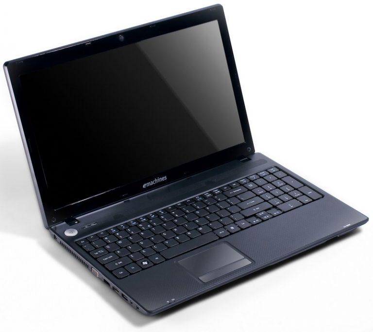 "LAPTOP SH Emachines E644, Intel i3-380M 2.53 Ghz, 4 GB, 250 GB ,15.6"""